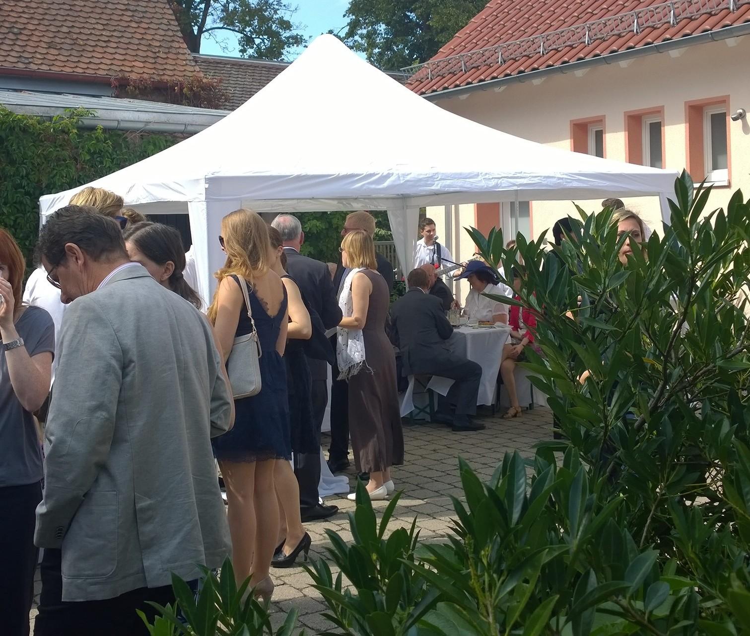 Veranstaltung mit Zelten von franconia lite