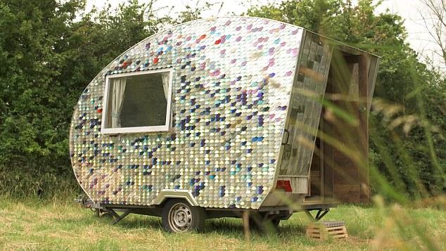 Ich war eine Dose CD Upcycling Recycling Do it yourself DIY nachhaltig Umweltschutz tinyhouse Tiny House Wohnwagen Camper Camping Minimalismus zero waste
