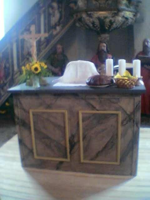 Der Altar in Seebach