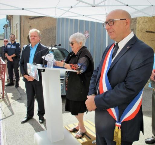 Inauguration de la restauration de la Tour de l'Horloge de Gonfaron.