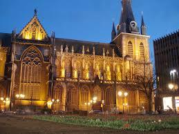 La très belle cathédrale de Liège, construite au XIIème siècle, accueille les trésors principautaires