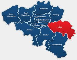 La Province de Liège, équivalent des départements