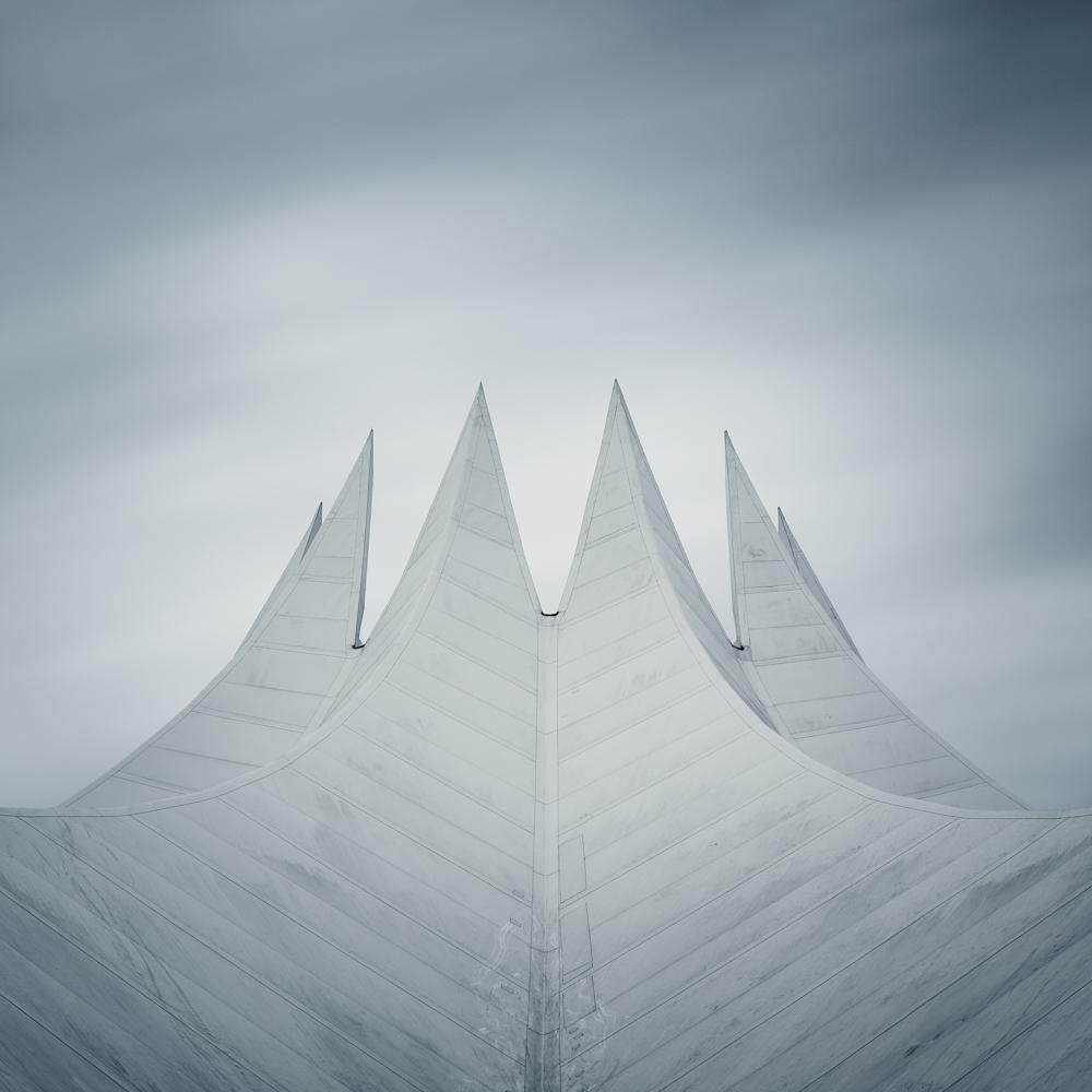 Berlin Tempodrum Study I (Copyright Martin Schmidt, Fotograf für Schwarz-Weiß Fine-Art Architektur- und Landschaftsfotografie aus Nürnberg)