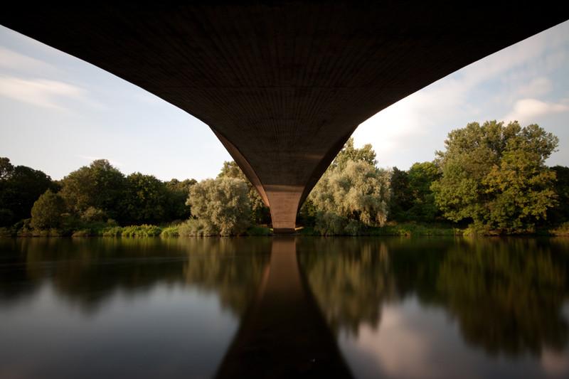 Dornröschenbrücke Hannover Linden - unbearbeitetes Original (Copyright Martin Schmidt)