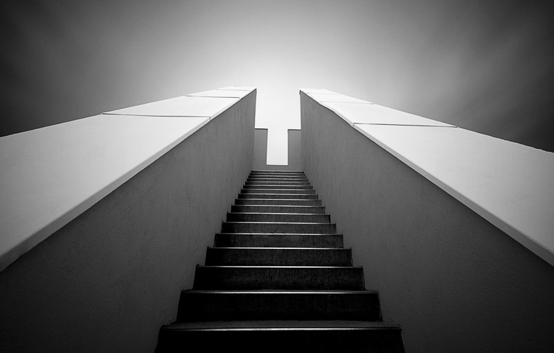 Stairs to the Light (Copyright Martin Schmidt)