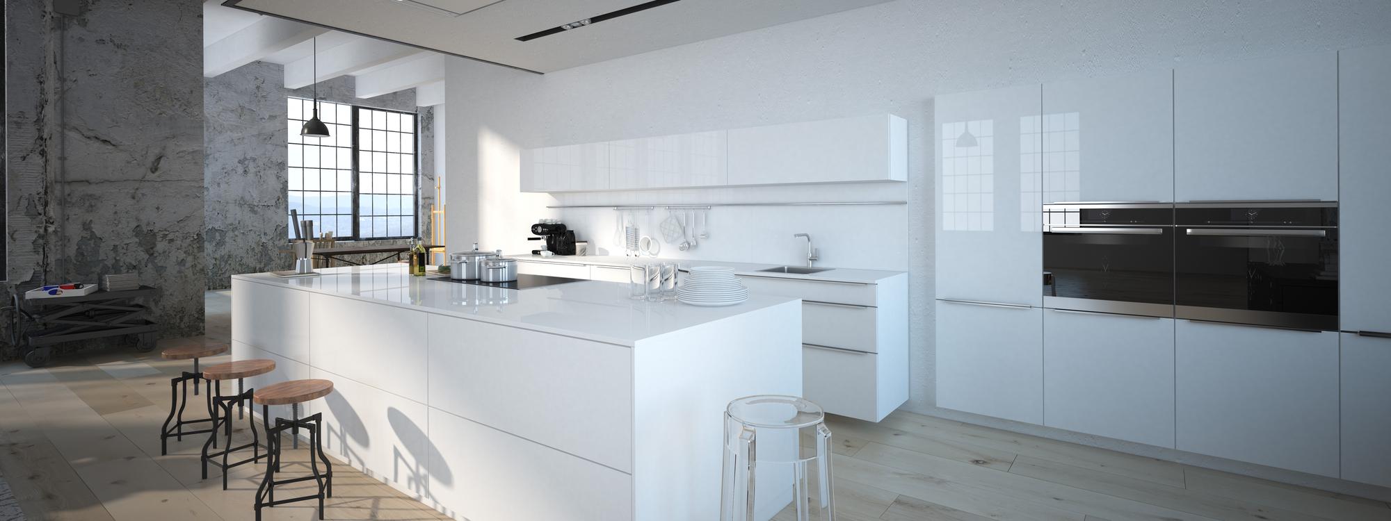Architekturvisualisierung / Innenarchitektur Küche