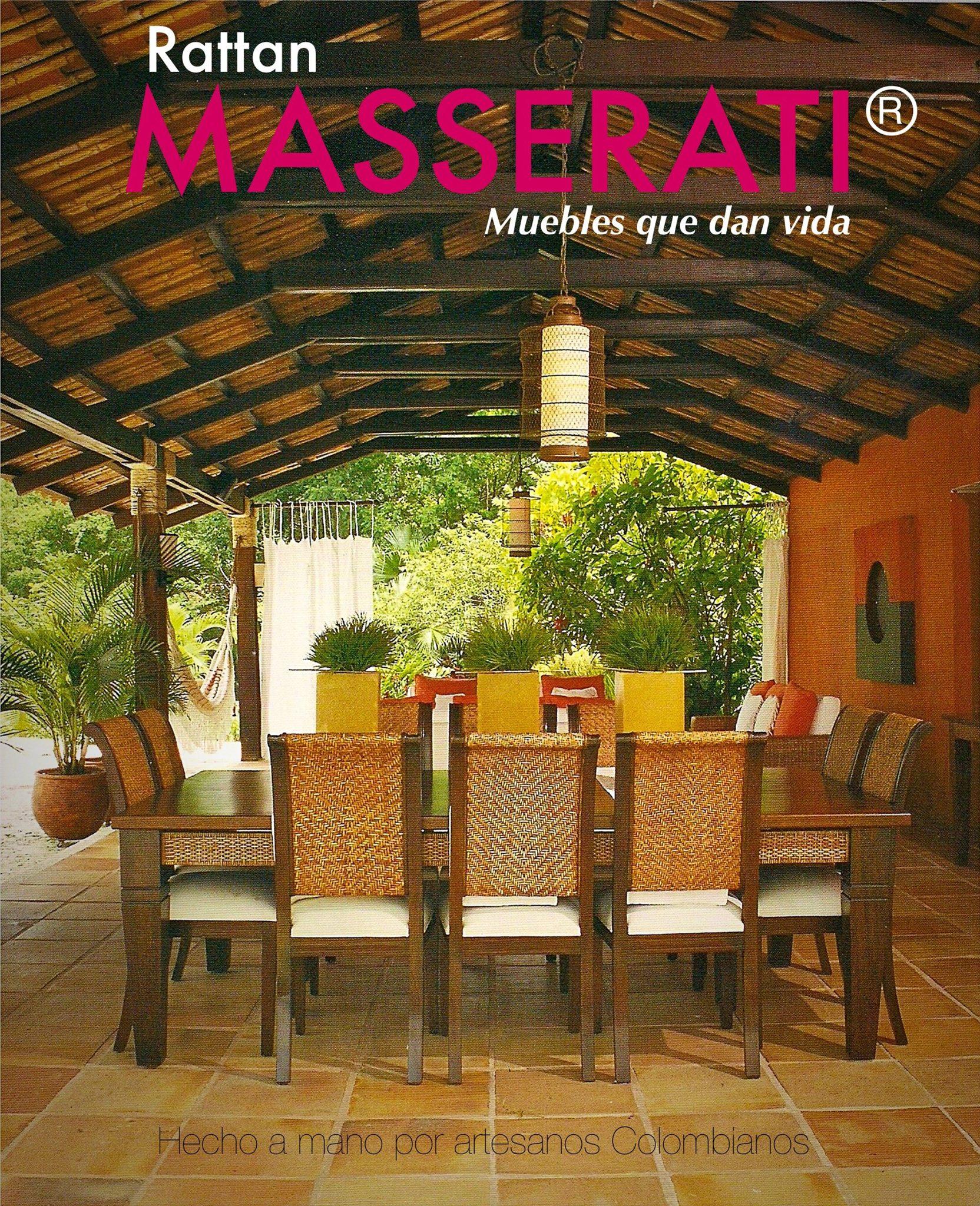 Muebles En Rattan Y Para Exterior Accesorios Rattan Masserati # Muebles Rattan Medellin