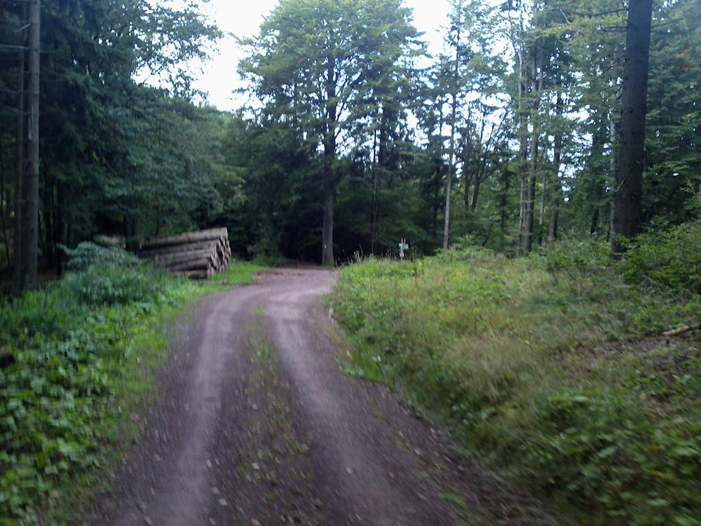 die letzten Meter bis zum Kroatenkreuz
