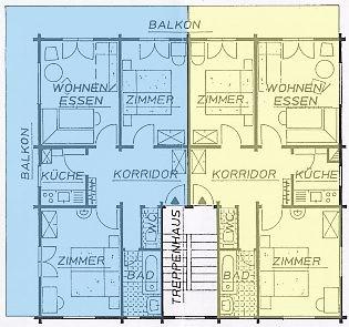 Wohnungen 1.1 und 1.2