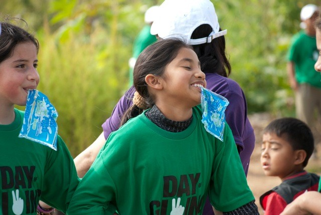 Niños y niñas de distintas escuelas de Guatemala se verán beneficiados con los aportes de Transactel.