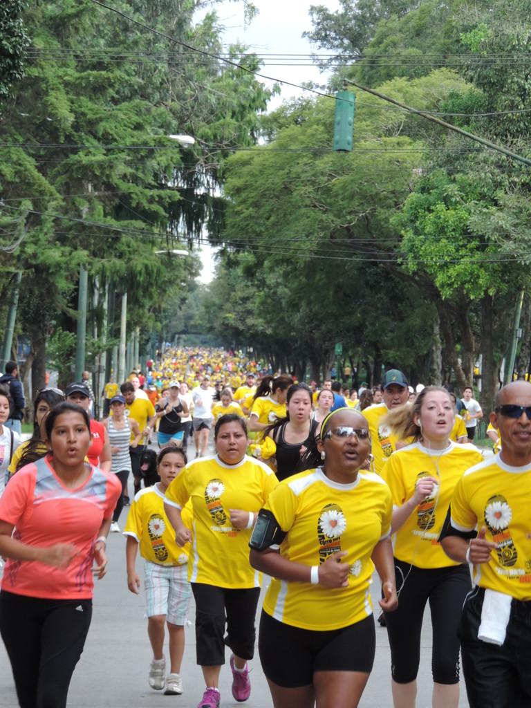 San Martín, BAM y Agua Pura Salvavidas apoyaron la tercera carrera de la Margarita, la cual fue a beneficio de los niños y jóvenes con síndrome de Down.