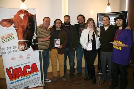 La Vaca, una comedia con ubres, ha sido vista por más de 15 mil personas en las salas de cine de Guatemala y fue invitada a participar en el Fetival de Películas Latinoamericanas de Londres.