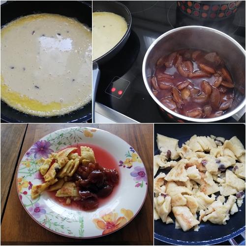 Unterwegs Kaiserschmarrn - Cooking Kaiserschmarrn