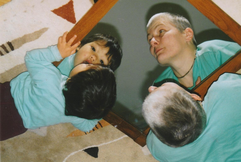 Die Entdeckung der Spiegelung - The discovery of mirroring I