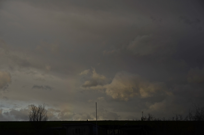 Sturm Sabine heute Morgen - Tempest Sabine this morning
