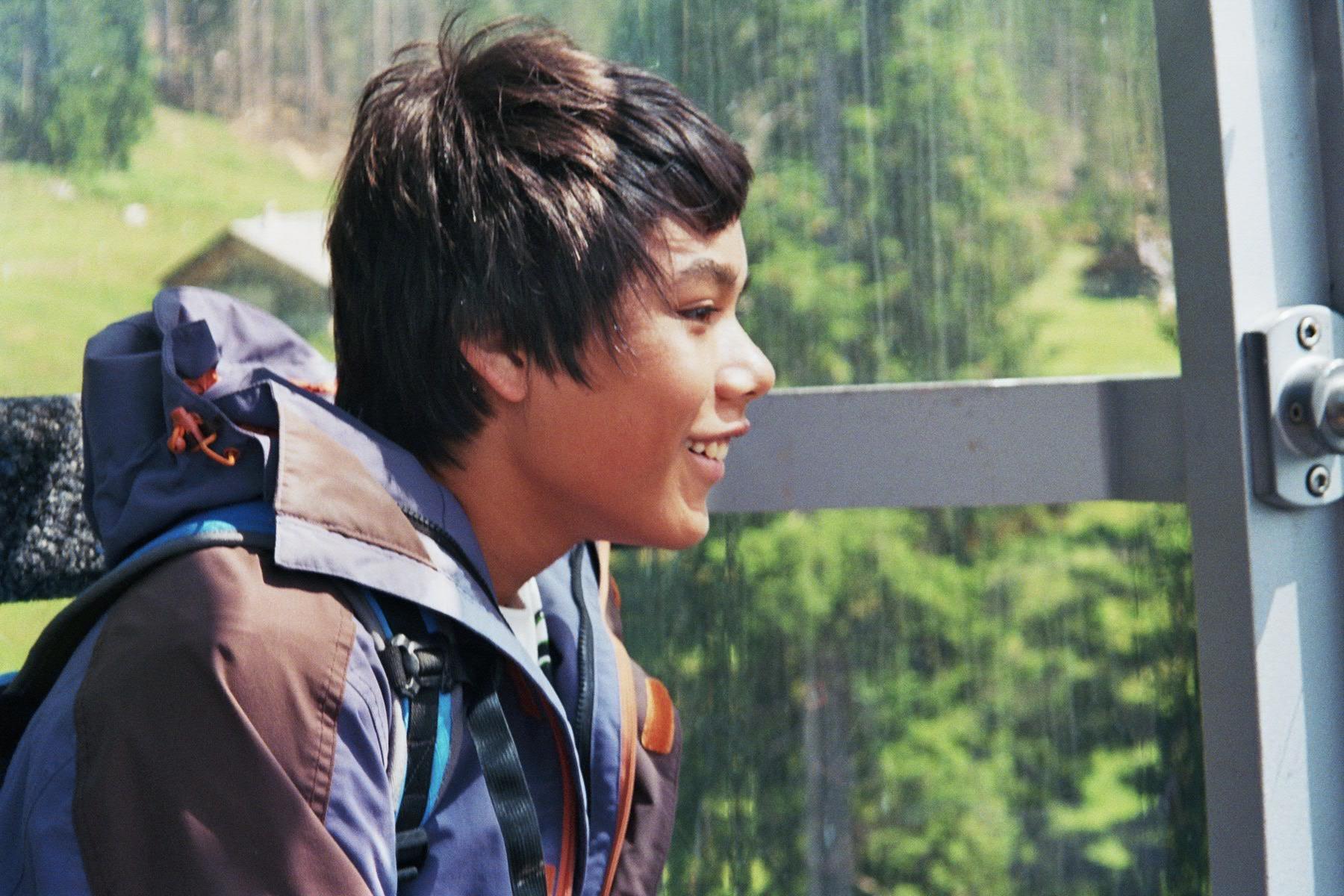 Thamiam auf der Fahrt aufs Niederhorn