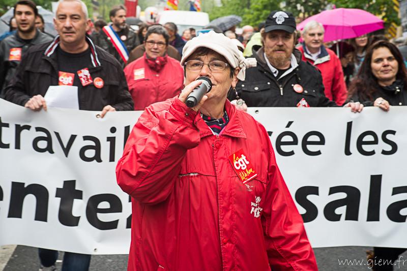 Paris 1er mai 2015
