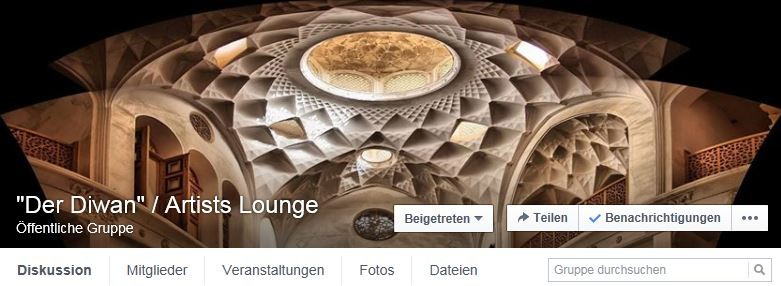 """Der Diwan"" / Artists Lounge"