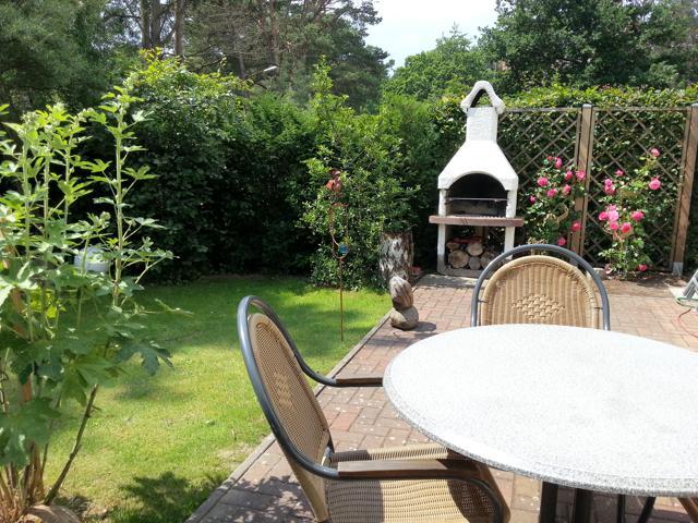 Grill und Garten vom Ferienhaus Aachenhus in Prerow