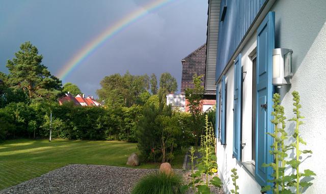 Regenbogen über Prerow