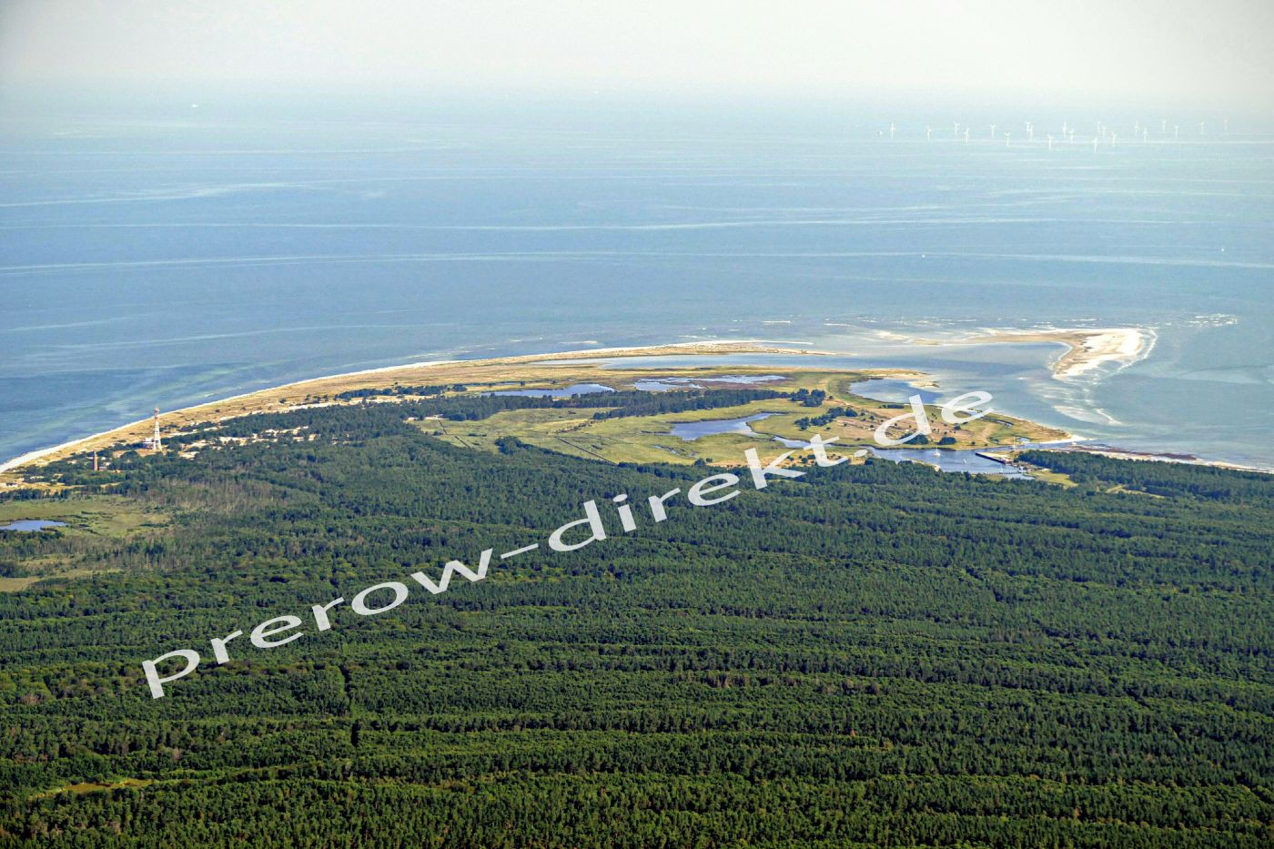 Darßer Ort, Nordwest-Spitze der Halbinsel Fischland-Darß-Zingst