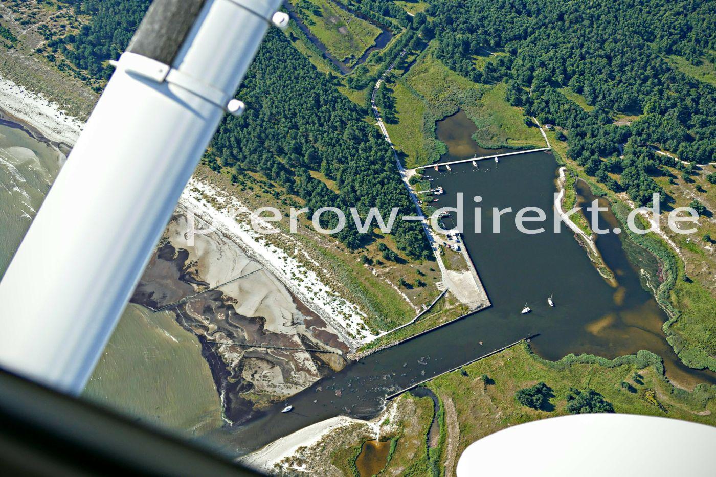 Der Nothafen von Prerow auf dem Darß