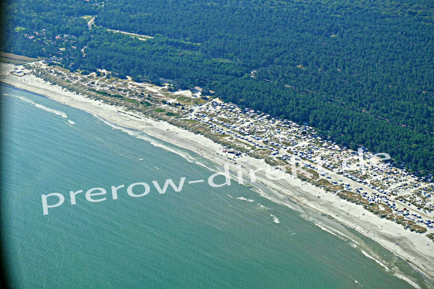 Prerow Campingplatz und Strand