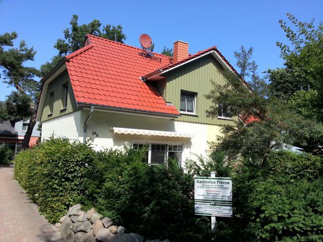 Das Ferienhaus Aachenhus von außen