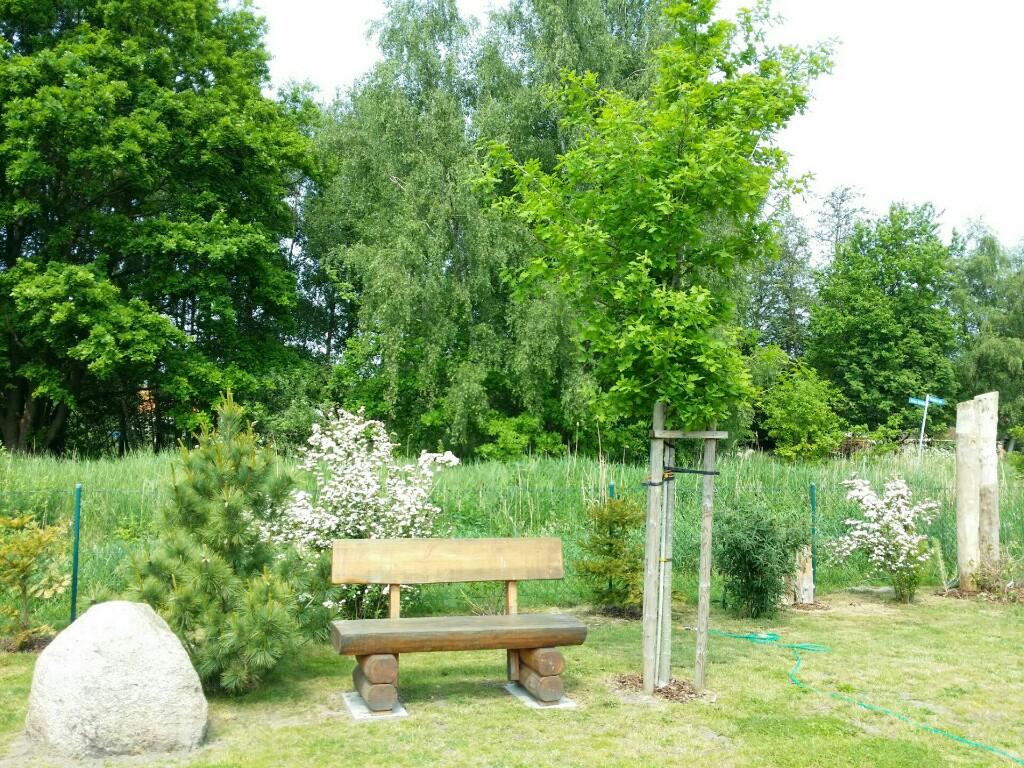 Sitzecke im Garten des Ferienhaus