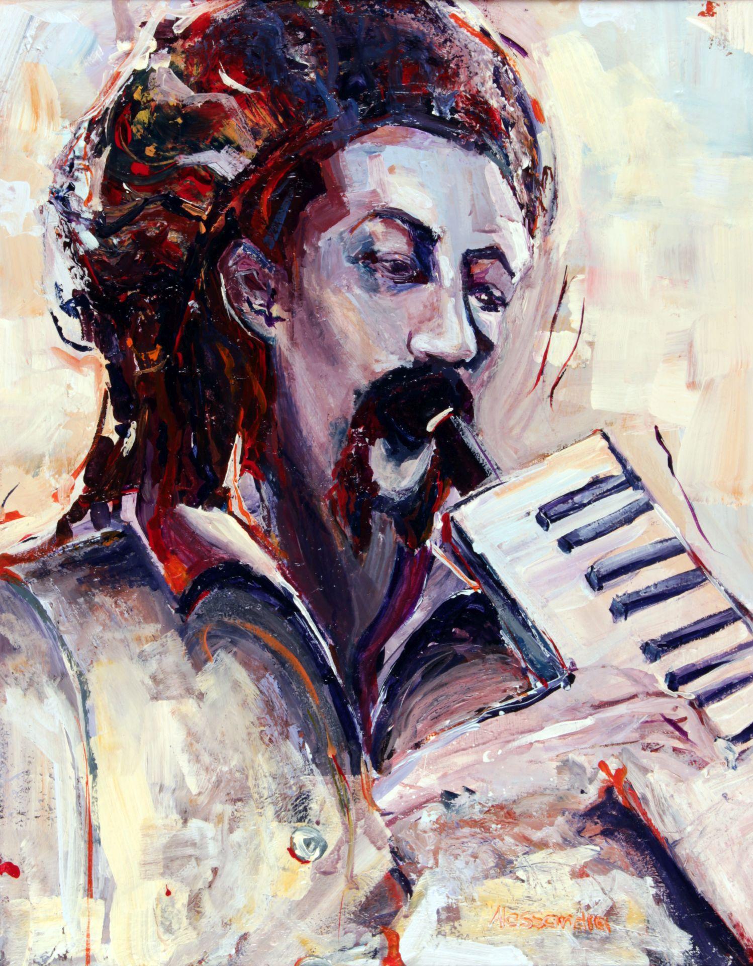 Augustus Pablo 80x60 cm