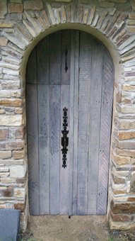 porte nichoir hirondelle