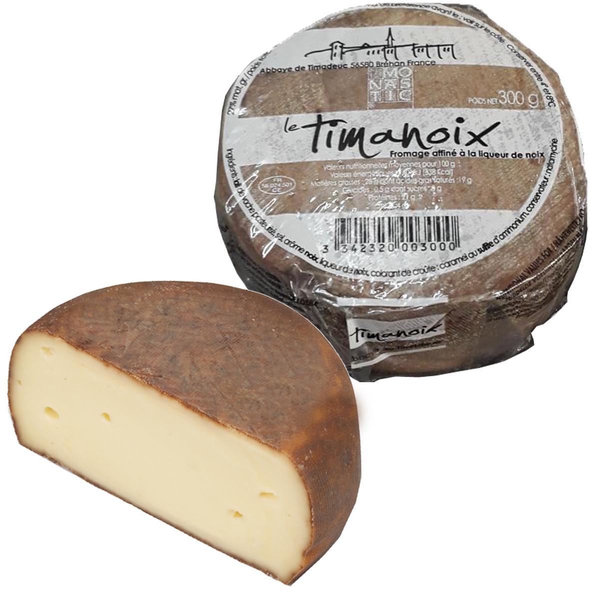 TIMANOIX - Schnittkäse aus dem Périgord. Dieser Käse wird mit Nusswasser verfeinert und ist die perfekte Verbindung zweier typischer Produkte der Region: Käse und Nüsse aus dem Périgord.