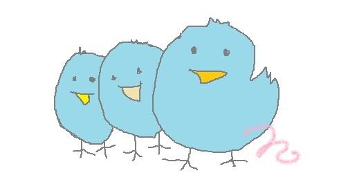 Twitter3 ツイッター 私の青い鳥