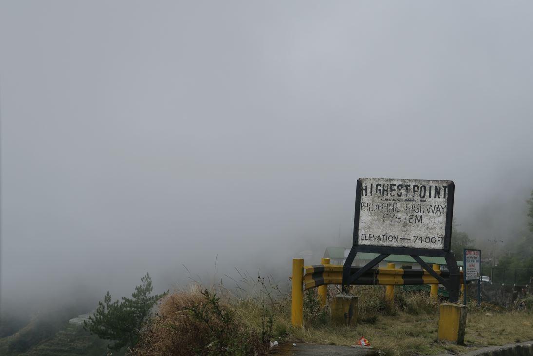 Der höchste Punkt auf unserer Reise nach Sagda.