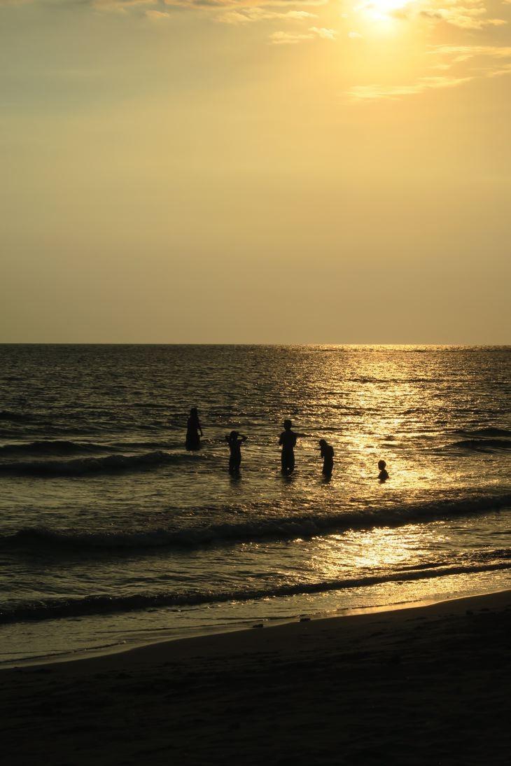 Und zum Abschluß noch einmal zurück zum Meer.
