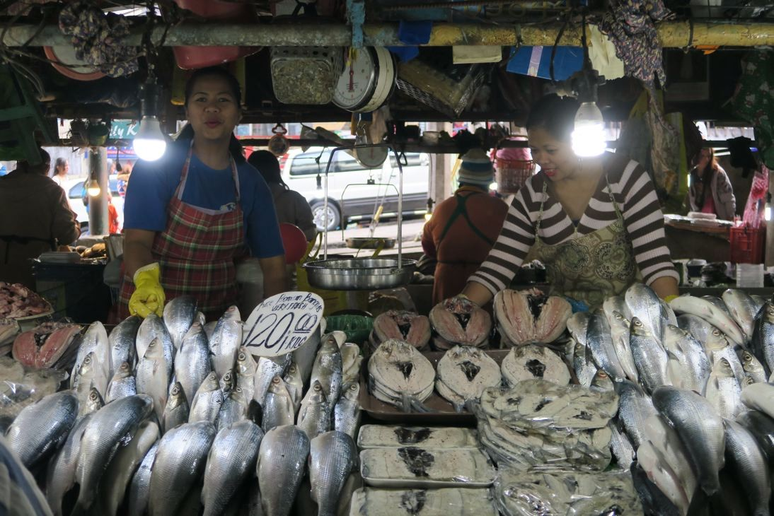 Public market in Baguio.