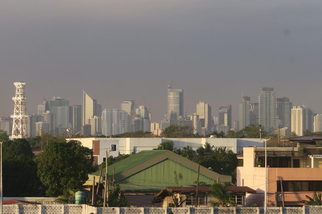 Ein kleiner Ausschnitt der Skyline.