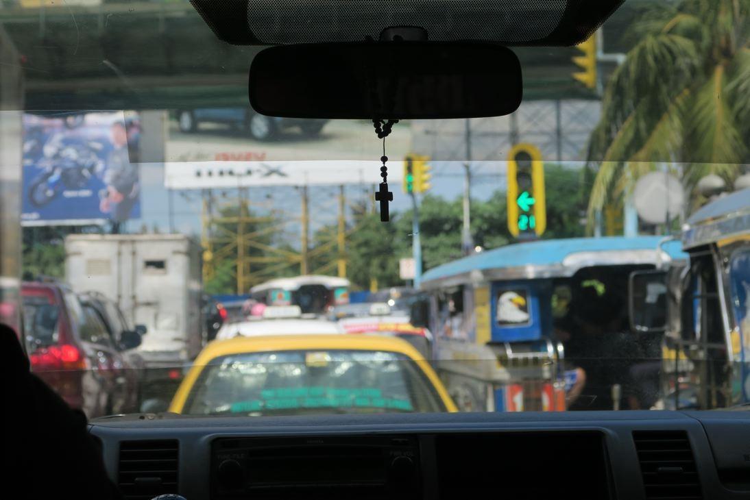 Manila heißt uns Willkommen.