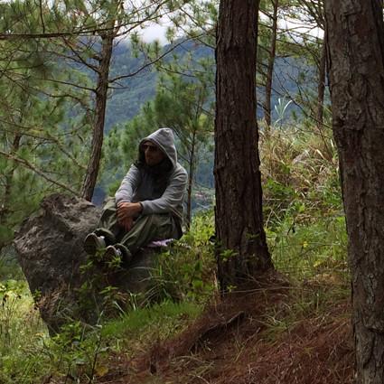 Meditation in Sagada.