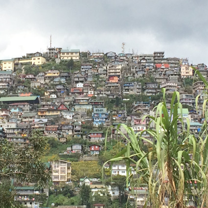 Baguio City – 1.500 Meter über dem Meer.