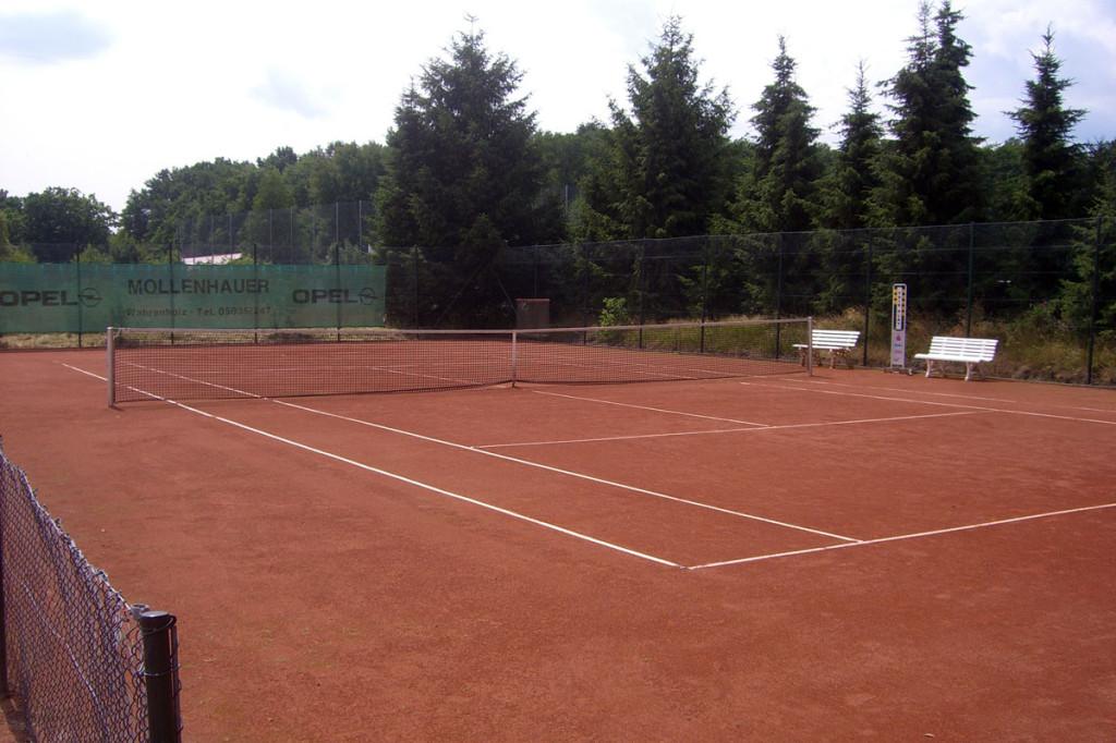 Tennis-Platz Nr. 1