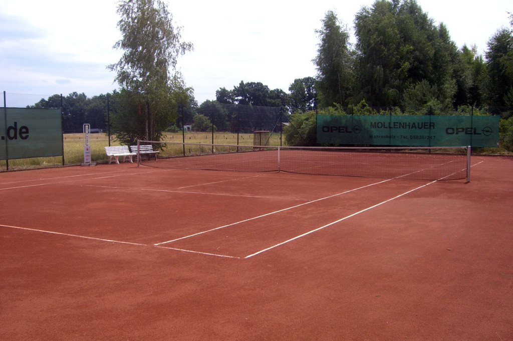 Tennis-Platz Nr. 2