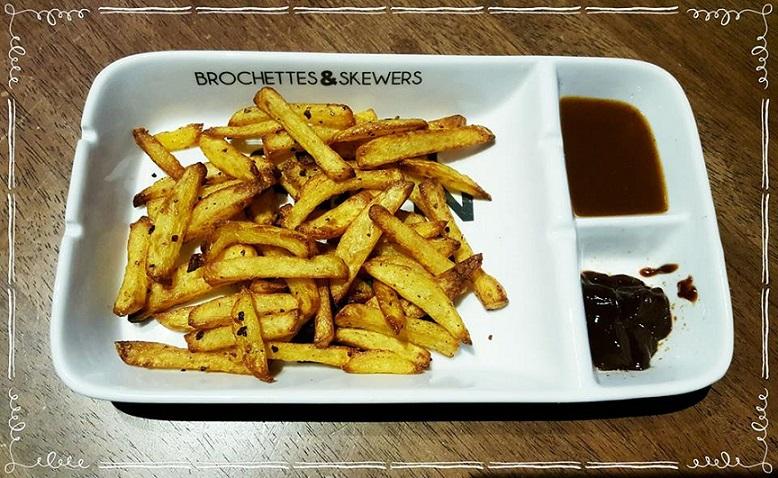 Knusprige Kartoffel-Pommes