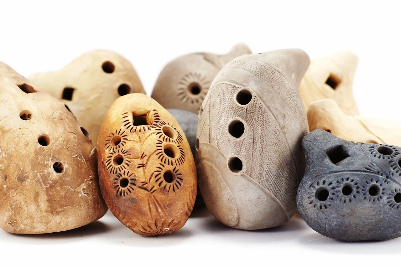 Окарины - музыкальные инструменты