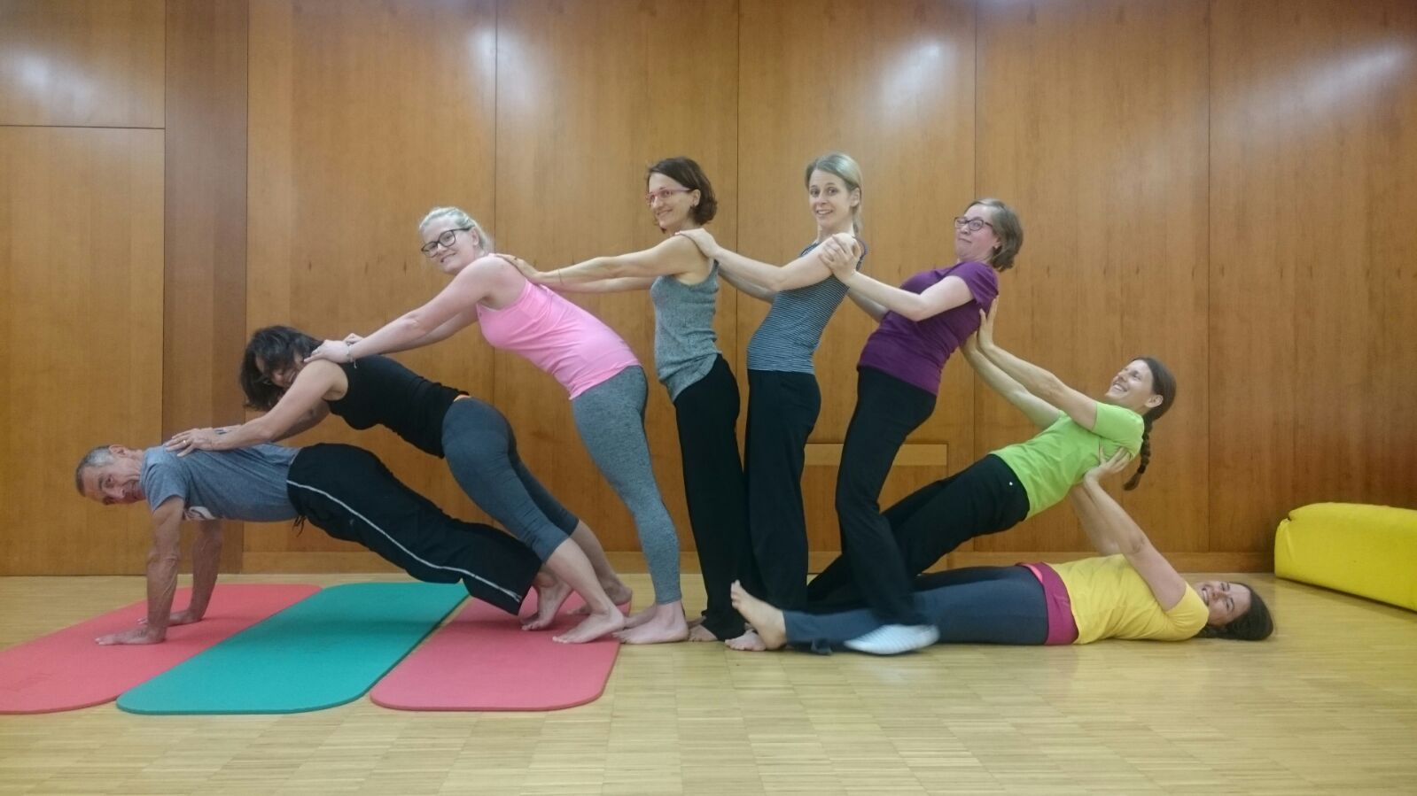Yogakurs, Natters