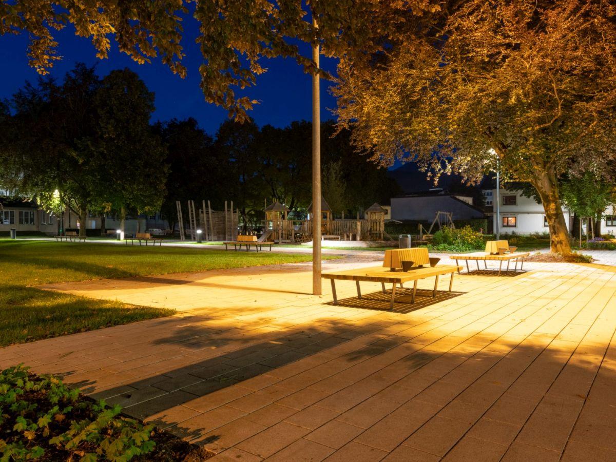 Parkanlage Reutte - Architektur Walch und Partner
