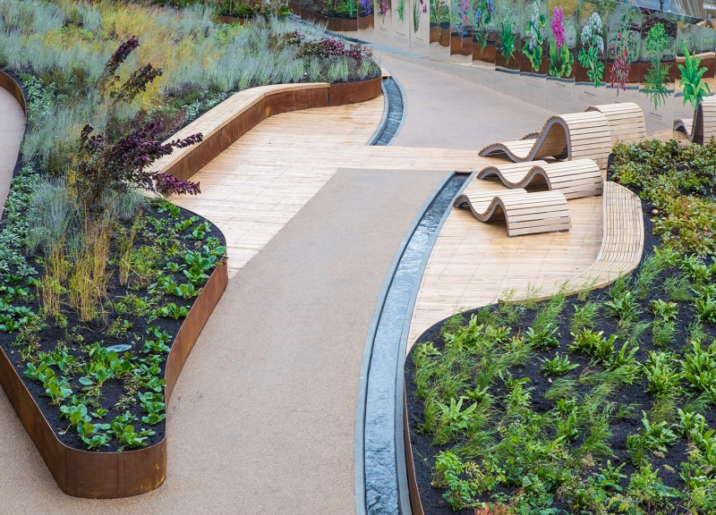 King's Cross - Handyside Gardens, London - Dan Pearson Studio