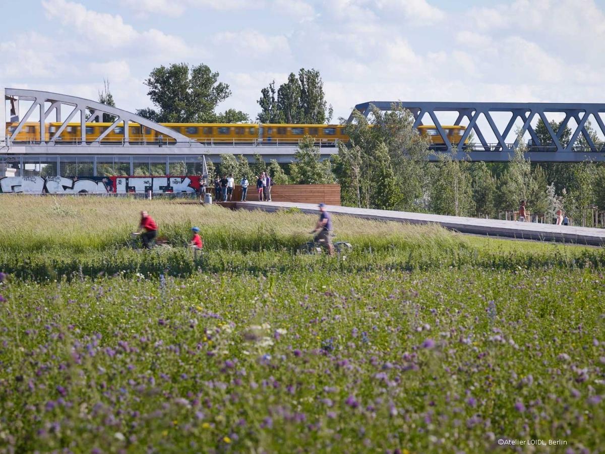 Park am Gleisdreieck, Berlin - Atelier LOID
