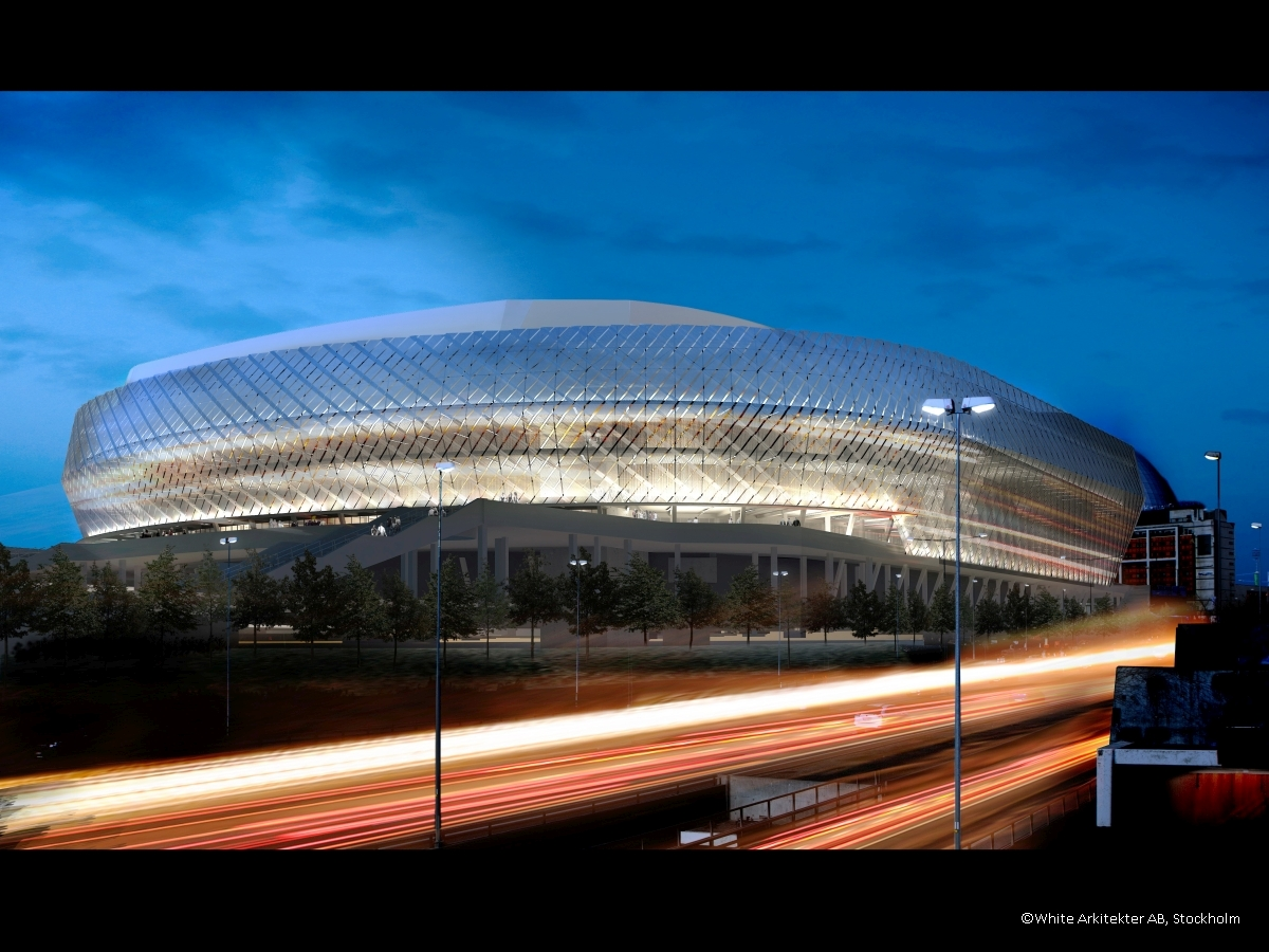 Tele2 Arena, Stockholm - White Arkitekter AB, Stockholm