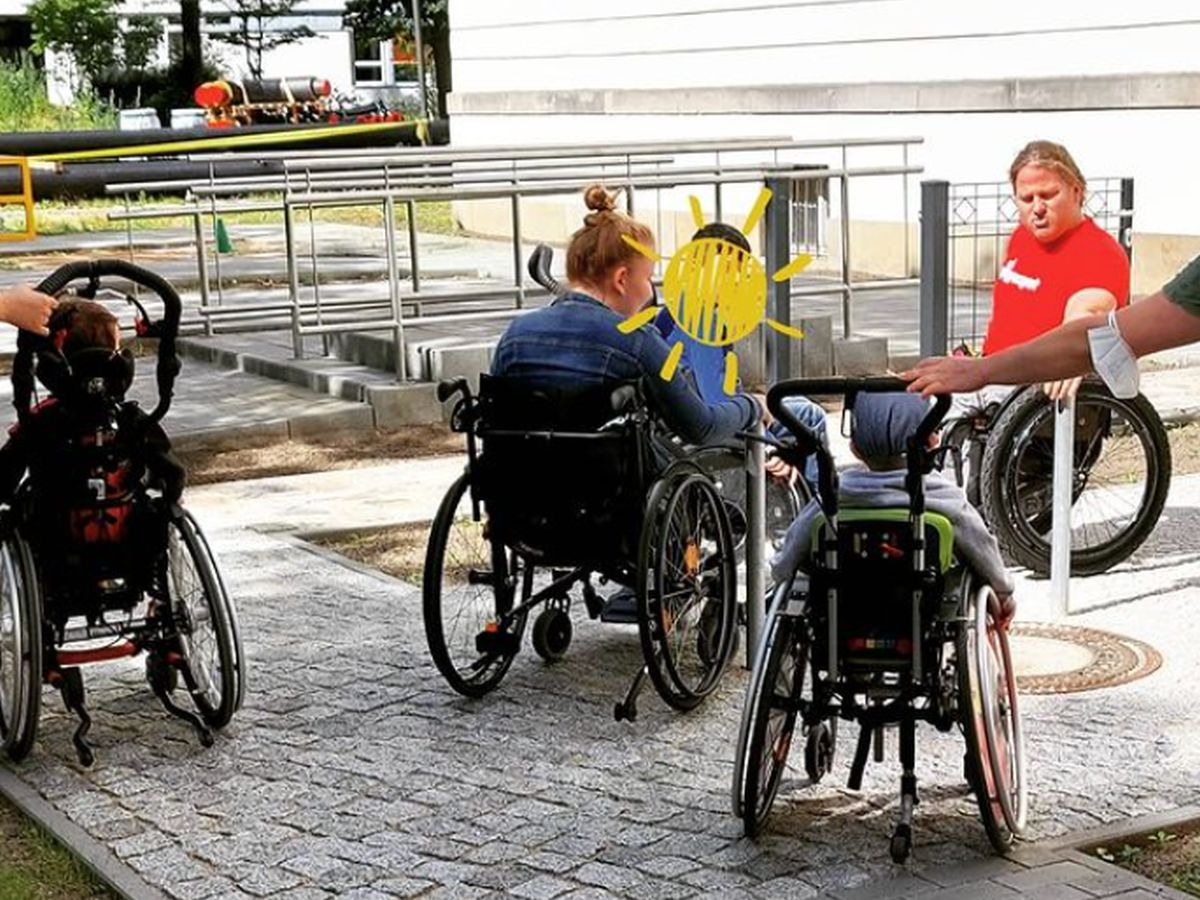 Rollstuhl-Parcours - Charité Berlin